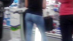 Jeans, Voyeur, Jeans ass