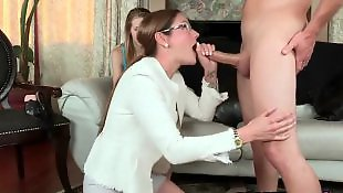 Mom lesbian, Lesbian mom, Moms, Mom, Mom threesome, Mom facial