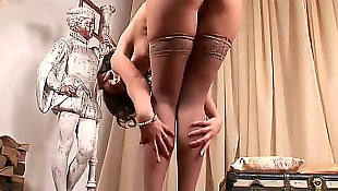 Stockings solo, Lesbians stockings