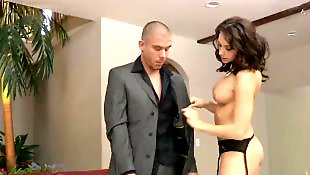 Stocking threesome, Chanel preston