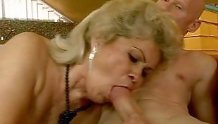 Mature, Old and young, Mature orgasm, Stocking orgasm, Corset, Orgasm