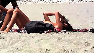 Nudist, Beach, Young, Public, Pickup, Nudist beach