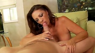 Young busty, Milf facial, Busty milf