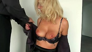 Tit fuck, Office, Big tits, Nipple, Big nipples