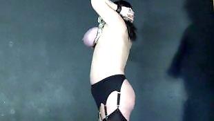 Bbw mature, Torture, Hanging tits, Tit torture, Mature, Hanging