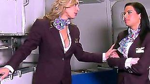 Танюша, Со стюардессой, Большая дама