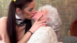 Granny norma, Old granny, Mature, Milf, Granny, Old and young lesbian
